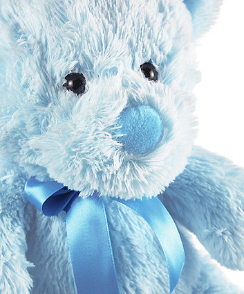 Mothercare Cuddly Bear - Blue