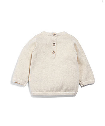 Mamas & Papas lurex jumper
