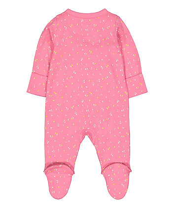 pink oh so pretty sleepsuit