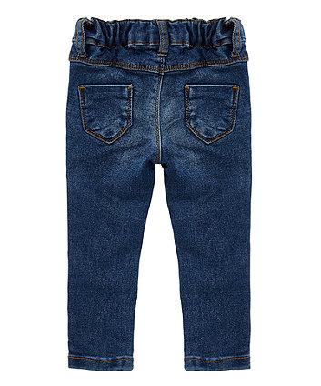 indigo skinny jeans