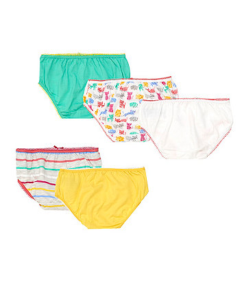 cat briefs - 5 pack