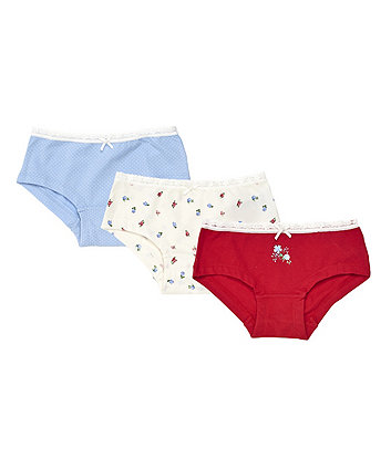 heritage floral briefs - 3 pack