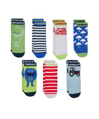 days of the week socks - 7 pack