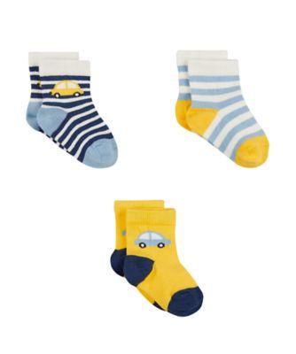 car socks - 3 pack