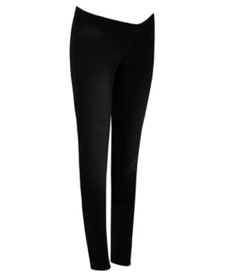 black under-the-bump maternity jeans