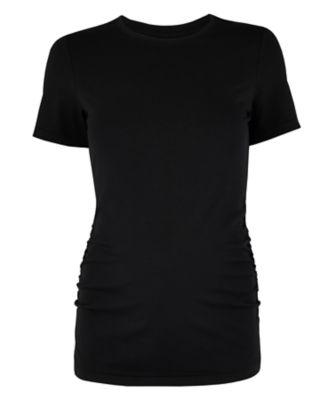 black maternity t-shirt