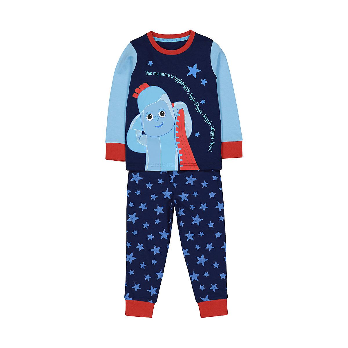 blue iggle piggle in the night garden pyjamas