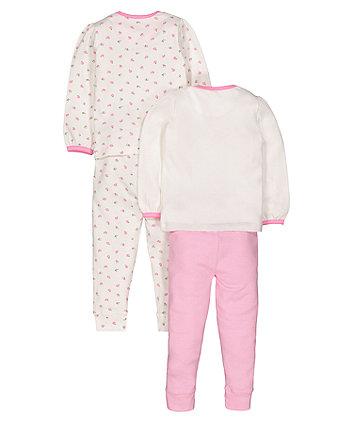 dream floral pyjamas - 2 pack