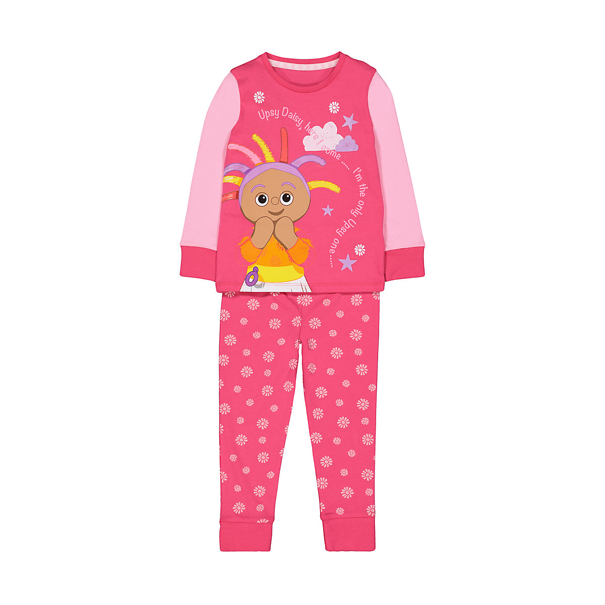 pink in the night garden pyjamas