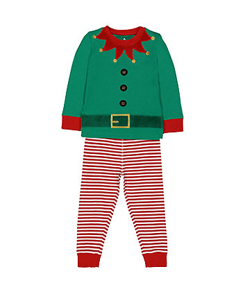 elf novelty pyjamas - Childrens Christmas Pyjamas