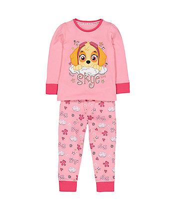 pink PAW Patrol skye pyjamas