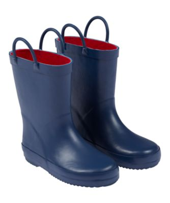 navy wellies