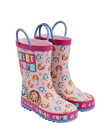 pink paw patrol wellies