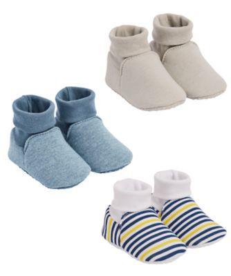 blue stripe baggies - 3 pairs