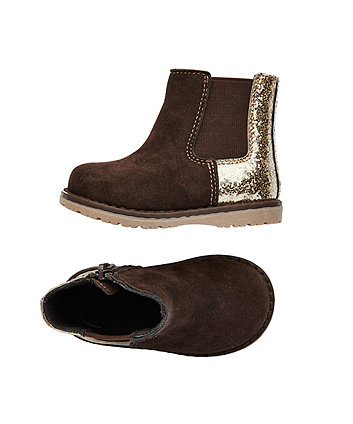 first walker brown sparkle boots