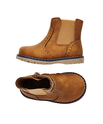 first walker brown chelsea boots