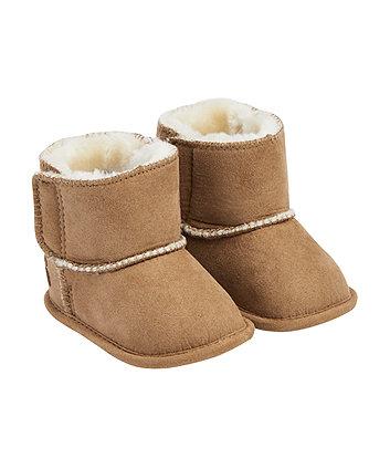 tan snug boots 798207d3b