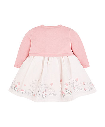my first dress and cardigan set 6e4294f9848c