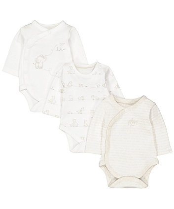 Unisex Baby Bodysuits Newborn Clothing Mothercare