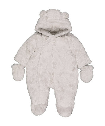 090f95812 Newborn Baby Boys Snowsuits   Pramsuits