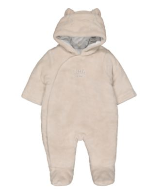 fleece pramsuit