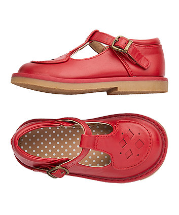 little bird red t-bar shoes