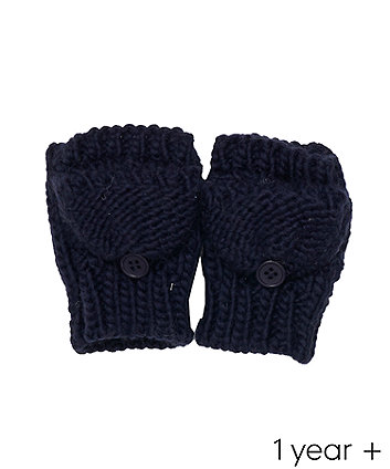 navy converter gloves