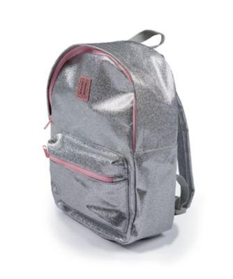 silver sparkle rucksack