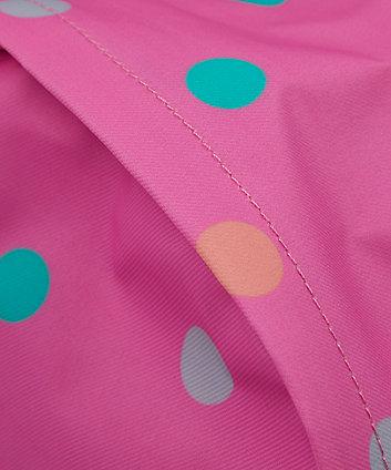 pink spot rucksack