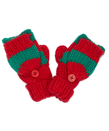 green and red stripe elf converter gloves