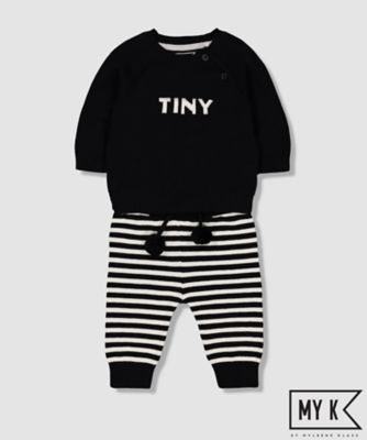 my k tiny knit and leggings set