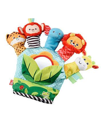 baby safari finger puppet glove