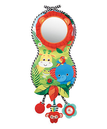 baby safari look and play car mirror