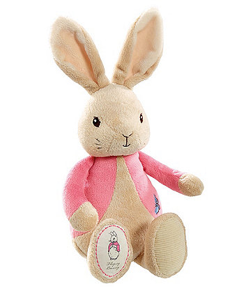 peter rabbit my first flopsy plush