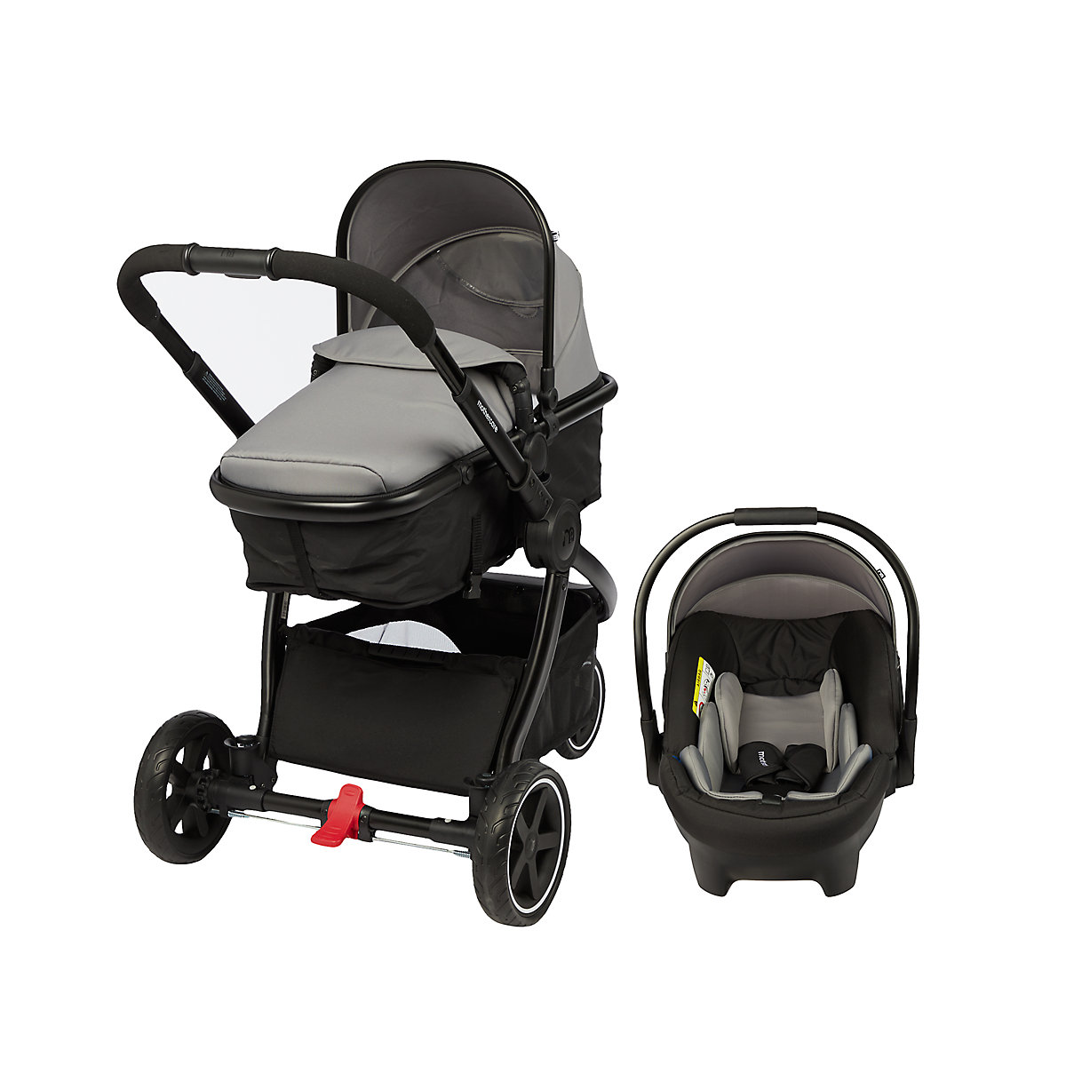 b034a3aeeef1 mothercare journey 3-wheel black travel system - charcoal. Available from Mothercare  for