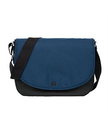 mothercare messenger changing bag - petrol blue