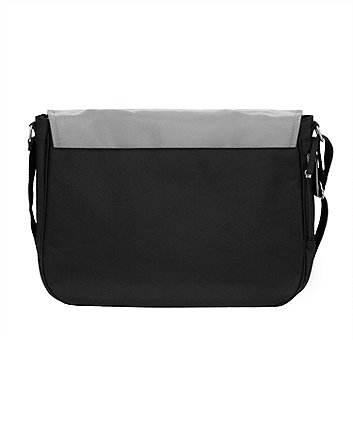 mothercare messenger changing bag - charcoal