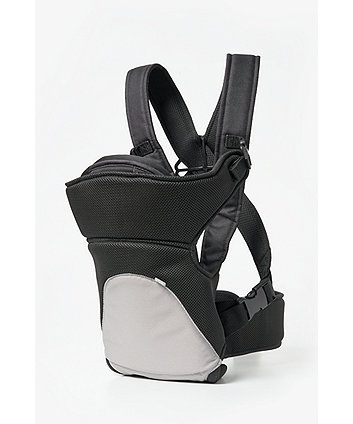 15abaea37ab mothercare three position baby carrier - black