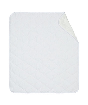 mothercare waterproof mattress pad - one size