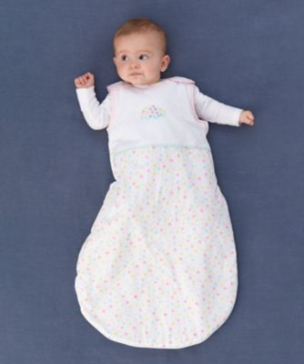 confetti party 0.5 tog snoozie sleep bag