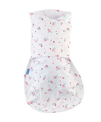 The Gro Company rose bud hip-healthy groswaddle *exclusive to mothercare*