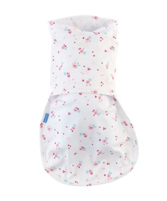 The Gro Company rose bud hip-healthy groswaddle