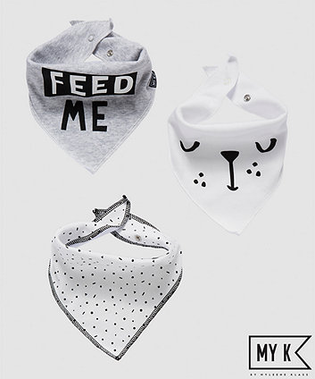 my k dribbler bibs - 3 pack