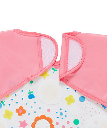 sunny days happy to be me coverall bibs - 2 pack