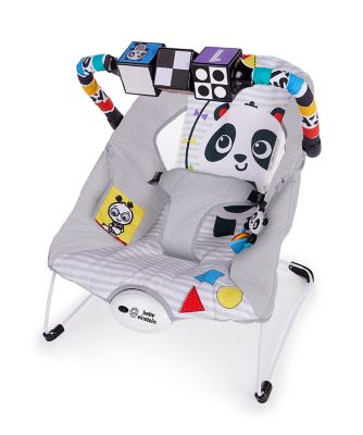 Baby Einstein more to see high contrast panda bouncer