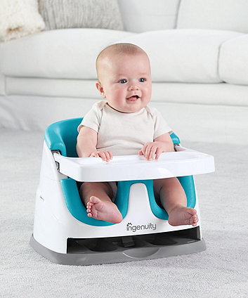 Ingenuity baby base 2-in-1 booster seat - peacock blue