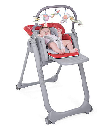 b00bcd8c2f347 Chicco polly magic highchair - scarlett  exclusive to mothercare