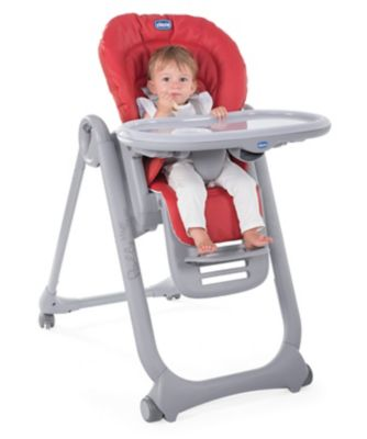 Chicco polly magic highchair - scarlett *exclusive to mothercare*