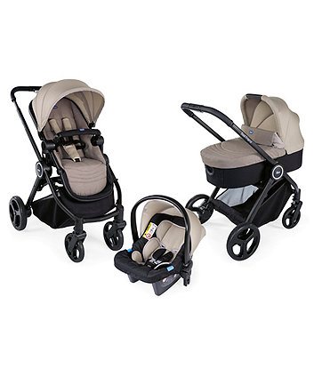 Chicco trio best friend travel system - beige *exclusive to mothercare*
