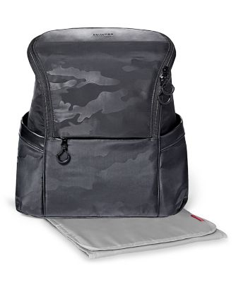 Skip Hop paxwell easy access changing backpack - black